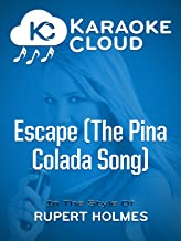 Karaoke Cloud - Escape (The Pina Colada Song)