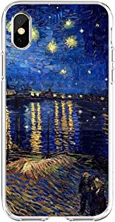 Floral Plant Vincent Van Gogh Oil Painting Soft TPU Phone Cover Mona Lisa funny Spoof Art Cases for Apple iPhone11 11pro 8...