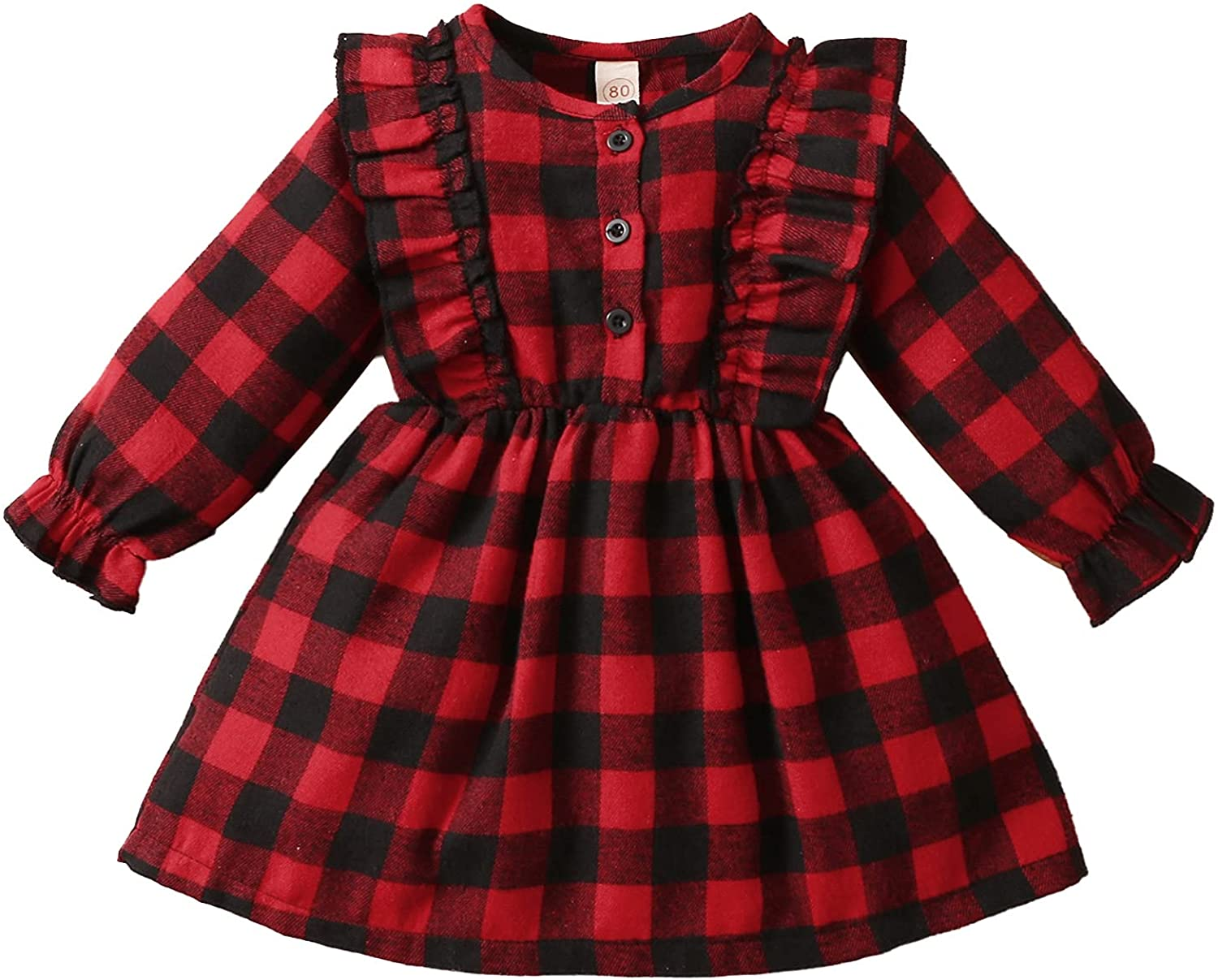 Kuriozud Toddler Baby Ranking TOP13 Girl Party Reservation Dress Plaid
