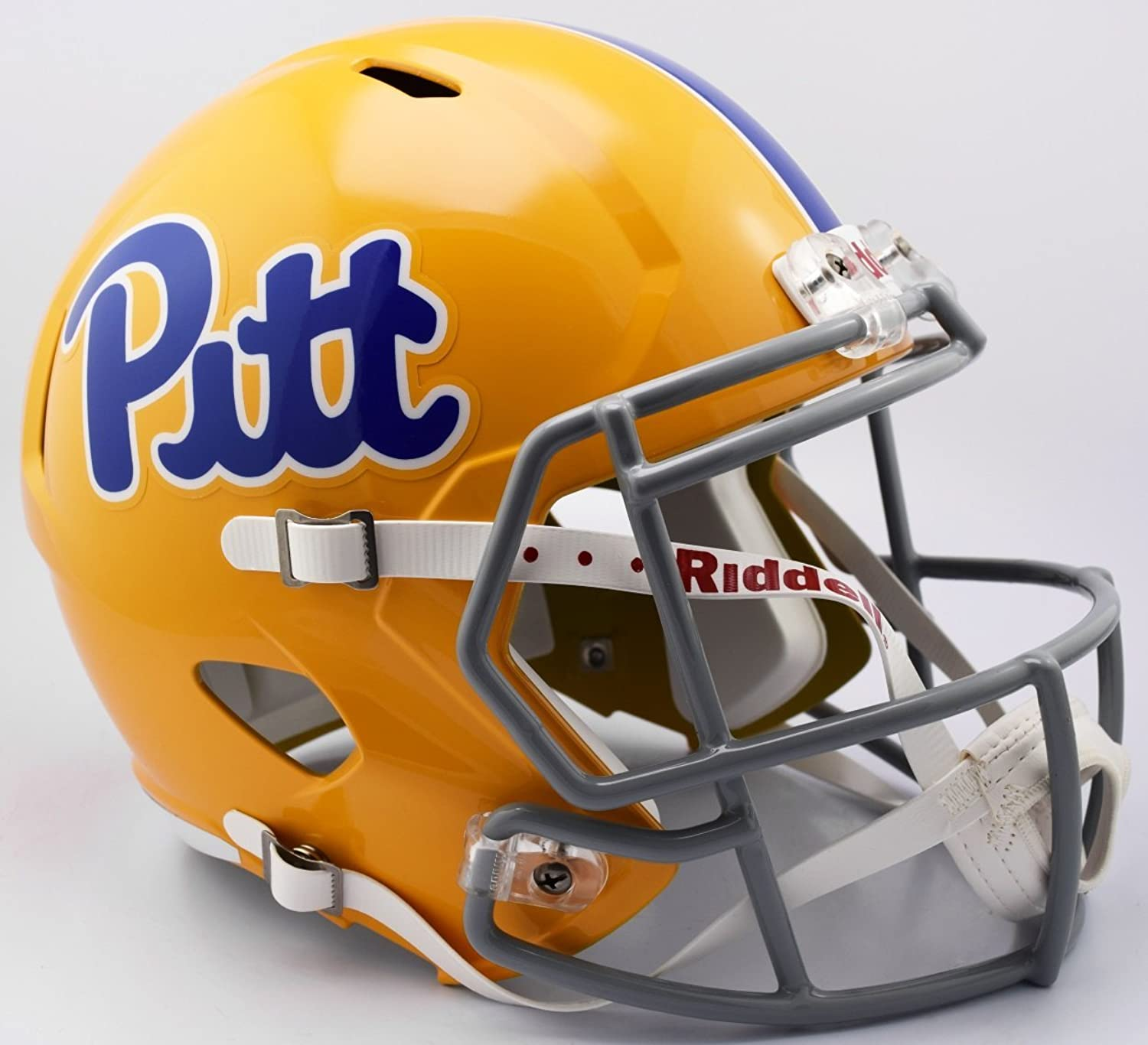 Pittsburgh Panthers Speed Replica Football Helmet B Script gold TB B