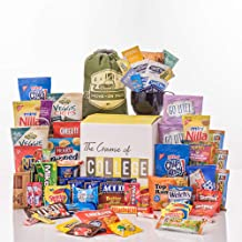 The Complete College Care Package, the Ultimate Variety Bundle Assortment Gift Box of Savory and Sweet Snack Treats for University College Students Returning to Campus or School