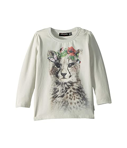 Rock Your Baby Floral Cheetah T-Shirt (Infant)