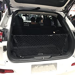 Kaungka Cargo Net Nylon Rear Trunk for 2014 2015 2016 2017 2018 2019Jeep Cherokee