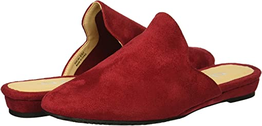 Ruby Red Super Suede