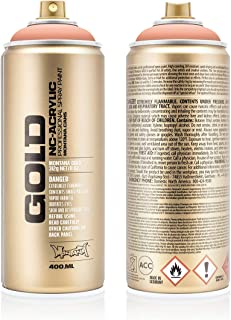 Montana Cans MXG-G8070 Montana Gold 400 ml Color, Salmon Spray Paint,