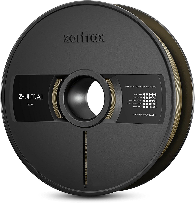 Zortrax Z-ULTRAT Filament, 1,75 mm, 800 g, Ivory B00QTB4G9U