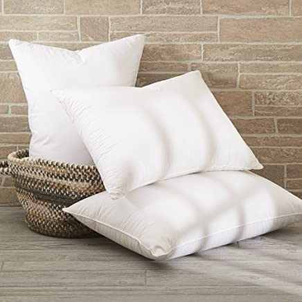 Dreamstead by Cuddledown Prime 550FP Duck Down Blended with Down-Alternative Soft Hypoallergenic Pillow,  Standard,  White
