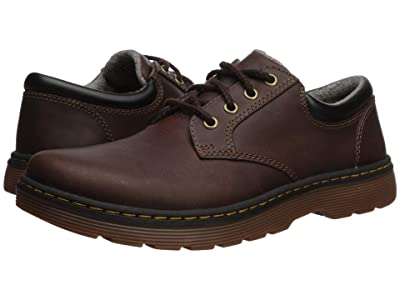 Dr. Martens Tipton Low Robson II (Dark Brown/Black Forty Leather) Men