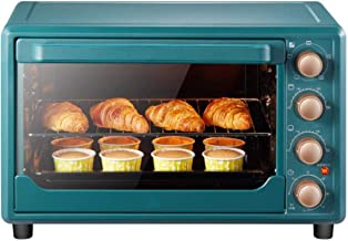 Mini four, 1500 watts, mini four à pizza, four minuterie, fermentation à basse température à 38 ° C, brochette rotative à ...