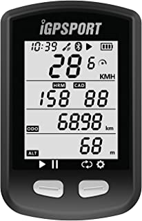GPS Bike Computer iGPSPORT iGS10 Wireless Bicycle Computer ANT+ Compatible with Cadence Speed Sensor(Not Include Sensor)
