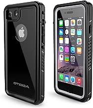 OTBBA Phone 7/8 Waterproof Case,IP68 Certified Waterproof Shockproof Snowproof Dirtproof Full Body Protective Underwater Case Compatible for 7/8 (Black)