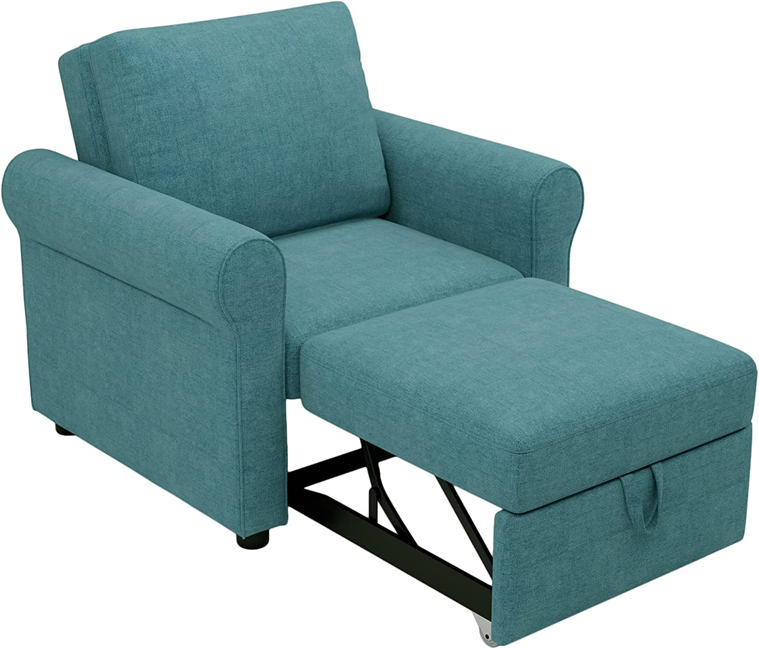 Babody 3-in-1 Sofa Bed Chair Max 76% OFF Convertible OFFicial Sleeper Adju