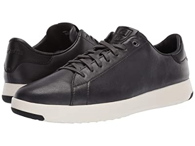 Cole Haan GrandPro Tennis Sneaker (Burnished Pavement Leather/Black) Men