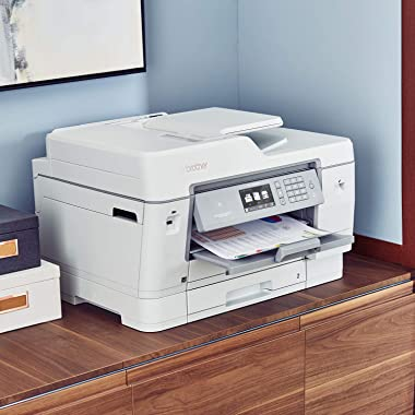Brother Inkjet Printer, MFCJ6945DW, INKvestmenttank Color Inkjet All-in-One Printer with Wireless, Duplex Printing and Up to