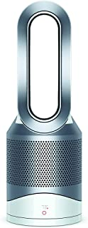 Dyson Pure Hot + Cool, HP01 HEPA Air Purifier, Space Heater & Fan, For Large Rooms, Removes Allergens, Pollutants, Dust, Mold, VOCs, White/Silver