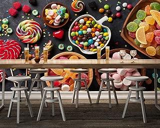 Wallpaper 3D Candy Wall Paper Mural Wall Print Decal Wall Murals,400Cmx280Cm