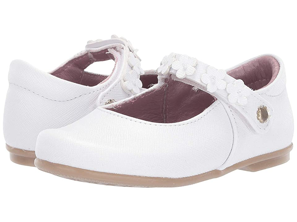 Kid Express Gaia (Toddler) (White Combo) Girls Shoes