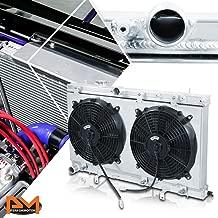 2703 2 ROW ALUMINUM RADIATOR WITH FAN SHOROUD FOR SUBARU IMPREZA WRX STI 03-07