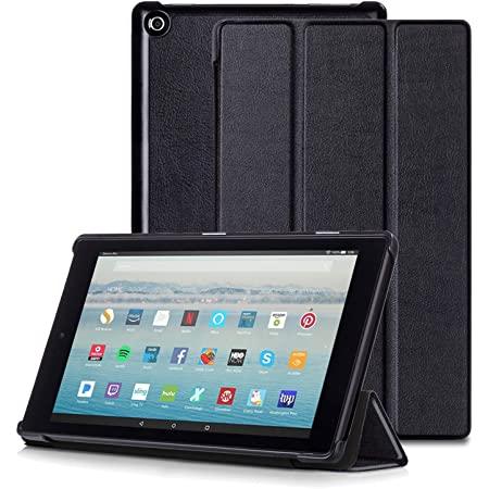 Slim Case for Amazon Fire HD 8 Tablet (6th/7th/8th Generation, 2016/2017/2018 Release) Ultra Lightweight Slim Shell Stand Cover Case for Fire HD 8,with Auto Wake/Sleep