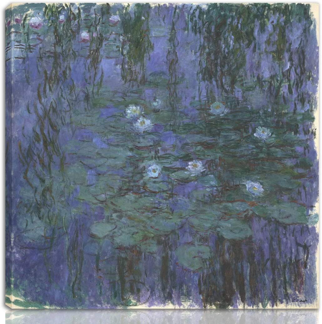 Berkin Sales Arts Claude Monet Super Special SALE held Stretched Print On Canvas-Famous Giclee