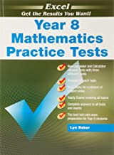 Excel Mathematics Practice Tests Year 8