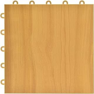 Greatmats Max Tile Laminate Floor Tile 26 Pack (Maple Plank)