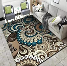 Living Room Carpet Chinese Country Style Rug Entrance Carpet Bed Carpet Carpet Corridor Decoration 100x160cm