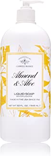 Caswell-Massey Almond and Aloe Liquid Soap – Natural Hand Wash, Made in the USA – 32 oz.