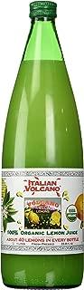 Volcano Bursts Organic Italian Lemon Juice, 33.8 oz