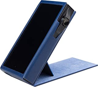 for Astell&Kern SA700, Handmade MITER CASE Cover [Patented Stand Case] AK SA700 (Navy)