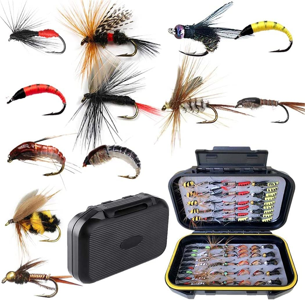handwork Genuine Free Shipping 40-148-Pieces Box Flies Max 88% OFF for Wet Dry Fi Fishing Fly