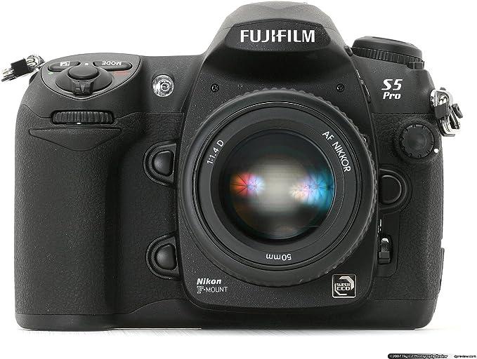 Fujifilm Finepix S5 Pro Digital SLR Camera with Nikon Lens Mount, Body Only Kit, 12.3 Megapixels, Interchangeable Lenses - USA