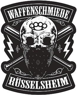 Aufkleber Waffenschmiede Rüsselsheim(Wetterfest)
