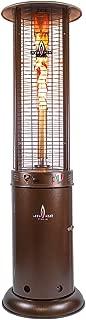 Lava Heat Italia - AMAZON-151 - Opus Lite Patio Heater - Heritage Bronze Finish - Natural Gas Configuration