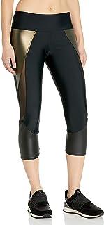 Onzie Womens 283 Splice Capri Leggings - Black