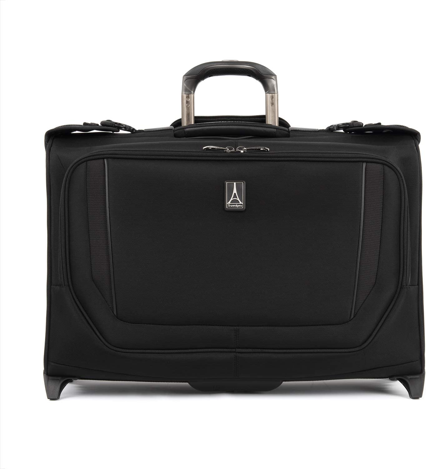 Travelpro Crew Versapack Carry-on Rolling Bag Jet Direct stock discount Garment Black Factory outlet