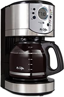 Mr. Coffee 12-Cup Programmable Coffee Maker with Brew Strength Selector – BVMC-CJX31-AM