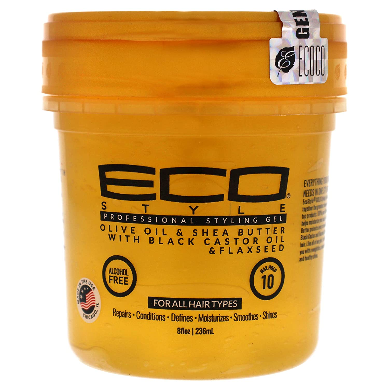 Soldering Eco Style NEW PACK OF Finally popular brand 3 ECO W VERSION GOLD Oliv GEL- STYLING