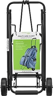 Travel Smart by Conair 75 lb. Folding Multi-Use Cart, Black