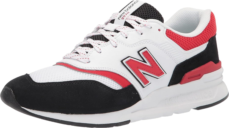 New Balance 997H V1, Zapatillas Hombre, Blanco y Negro, 51 EU