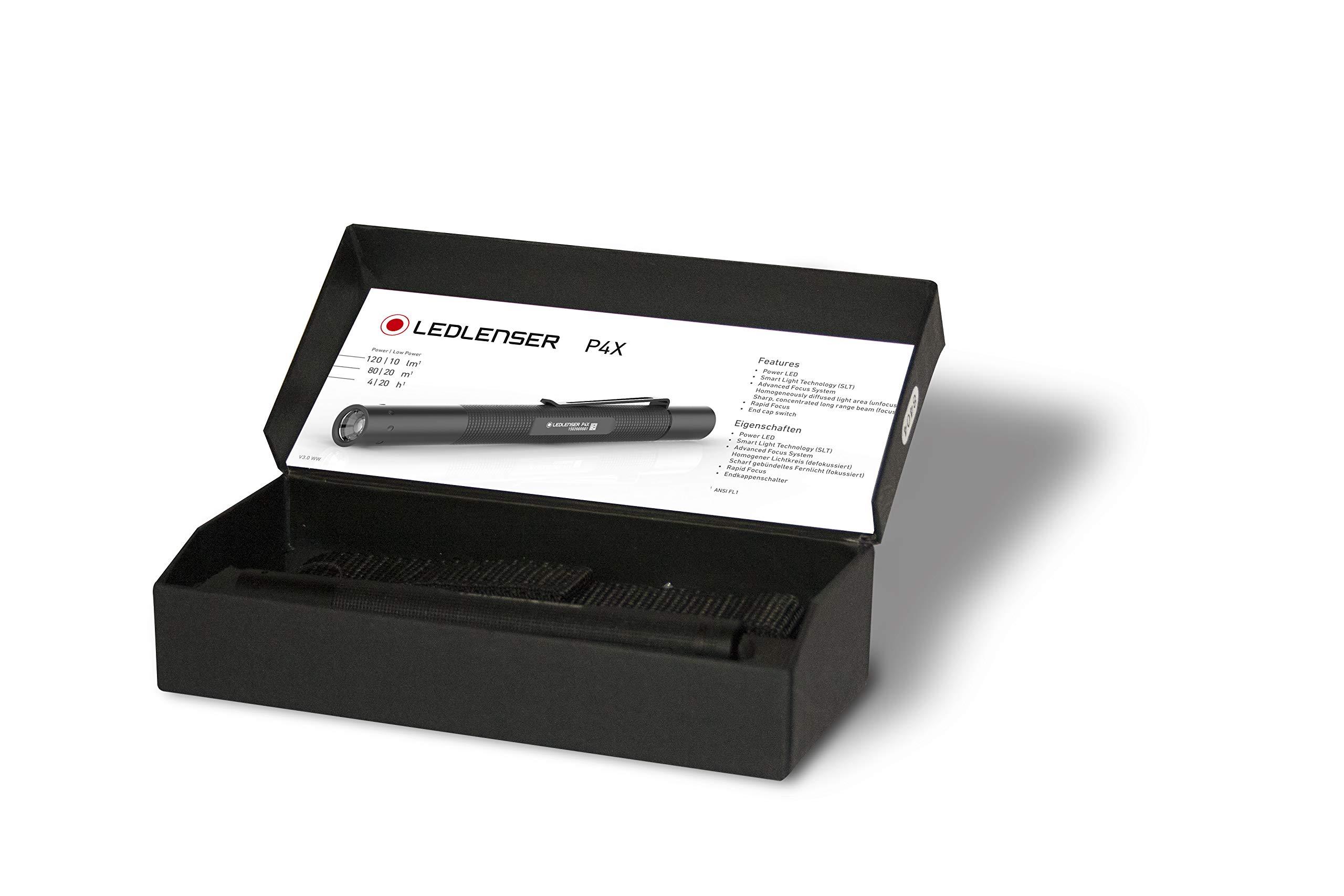 Negro Zweibr/üder X LED Linterna cea5/W nser P4/X S