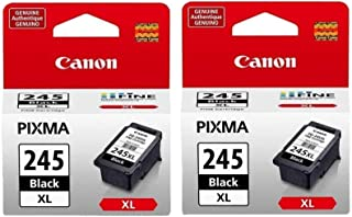 2 Pack Canon PG-245XL Black Cartridge
