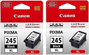 2 Pack Canon PG-245XL Black Cartridge