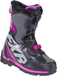 FXR X-Cross Pro BOA Boot (Black/Fuchsia, Womens 10 / EU41)