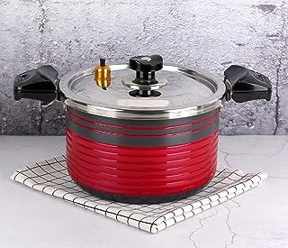 Aluminum Pressure Cooker Non-stick Pan,Ceramic Coating Low Pressure Cooker,Micro Pressure Cooker,Push-pull Switch Handle,S...