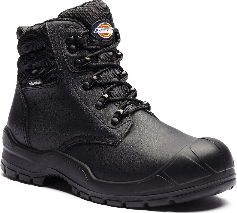 Dickies fa9007–8Trenton Sicherheit Stiefel, Größe 8, Schwarz