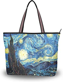Vincent Van Gogh STELLATO NOTTE Tote SHOPPING BAG FOR LIFE