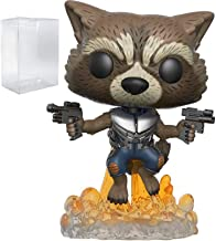 Marvel: Guardians of The Galaxy Vol. 2 - Flying Rocket Raccoon Funko Pop! Vinyl Figure (Includes Compatible Pop Box Protector Case)