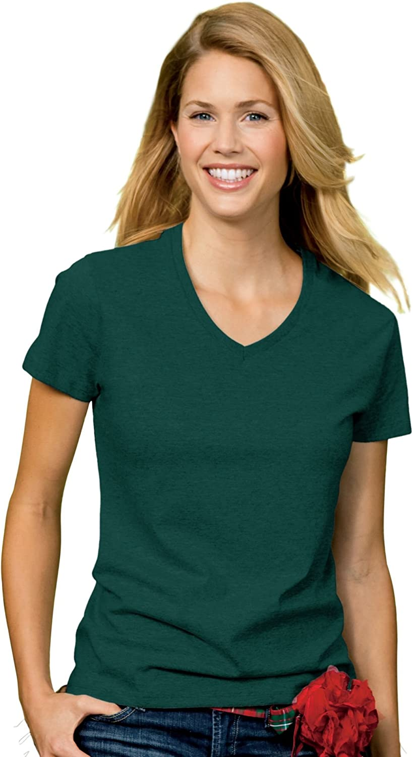 Hanes Women's Relaxed Fit ComfortSoft V-Neck T-Shirt