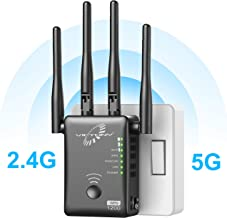 $50 » VICTONY WA1200 Wireless Range Extender 1200Mbps WiFi Extneder Dual Band With 4 External Antennas WiFi Signal Booster